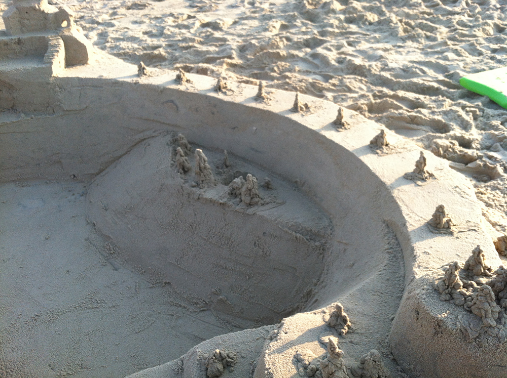 Sustainability and Sandcastles