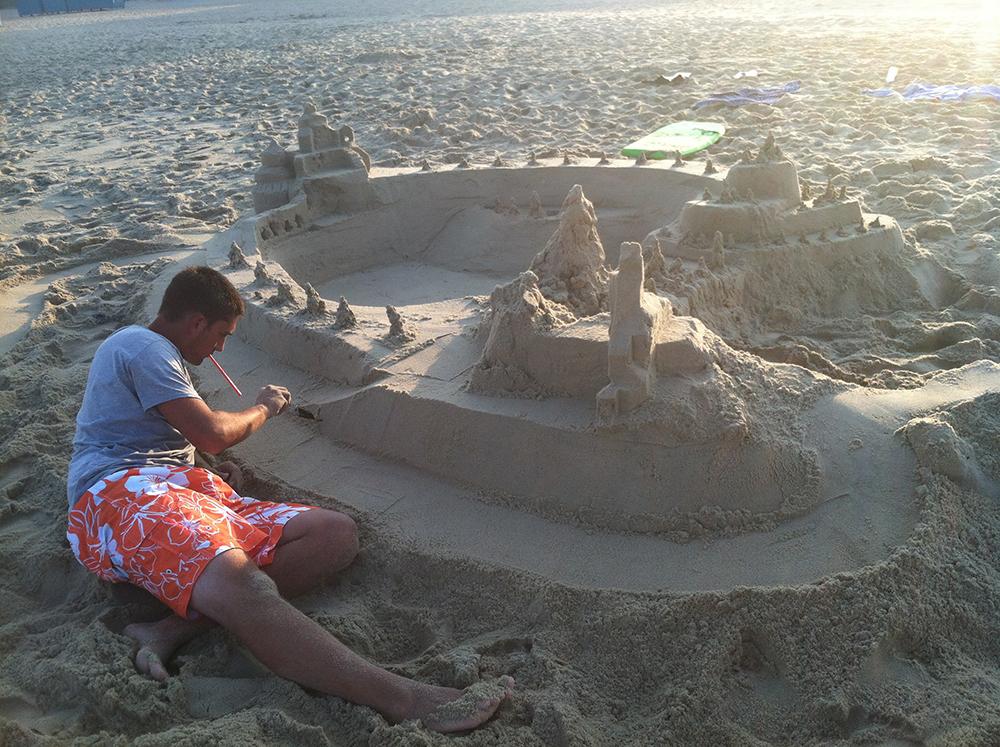 Ed Burns Sandcastle